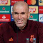 Zidane: «Son 3 puntos y 4 goles marcados, hay que estar contento»