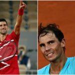 Nadal vs Djokovic, mañana a las 15:00, por el 12+1 y las 100 victorias en París.