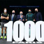 Nadal ya es milenario: 1000 triunfos y en un selecto grupo de 4 tenistas.