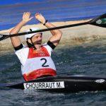 Nuestra campeona olímpica, M. Chourraut se mete en la final de la Copa del Mundo de Eslalon de Francia.