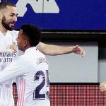 El Real Madrid es el mejor equipo visitante de la Liga Santander con 5 triunfos (Camp Nou y Pizjuán, entre ellos)