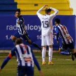 El nefasto primer mes del 2021 para el Real Madrid (1 victoria en 4 partidos y 2 títulos lapidados).