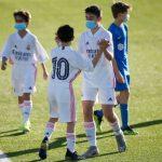 Pleno de victorias de los 12 equipos de la cantera madridista.