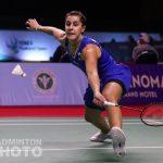 Carolina Marín arranca con fuerza 2021. Cómodo debut ante la francesa Qi Xuefei
