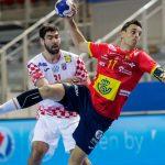 Los Hispanos dan la cara ante Croacia en el estreno de 2021. Un mal inicio de segunda parte condenó a los de Ribera a su segunda derrota en la EHF Euro 2022.
