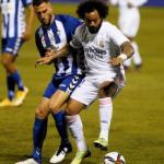 CRÓNICA: ALC-RMA. El Real Madrid toca fondo