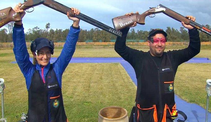 ORO en TRAP mixto! . Fátima y Alberto dan a España, la 5ª medalla en el  Grand Prix de Rabat.   Tribuna Madridista