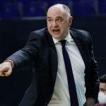 Pablo Laso, sancionado por la Euroliga con un partido