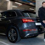 Audi entrega los vehículos oficiales a la primera plantilla de baloncesto del Real Madrid