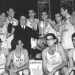Se cumplen 56 años de la II Copa de Europa del Real Madrid de baloncesto.
