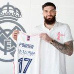 OFICIAL: Vicent Poirier, nuevo jugador del Real Madrid de baloncesto.