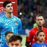 OFICIAL: Courtois y Hazard, convocados con Bélgica para la Eurocopa