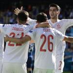 CRÓNICA: ESP-ESL. España se da un festín ante una débil Eslovaquia