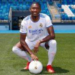 Alaba debuta en partido oficial con el Real Madrid